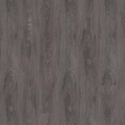 Achiever Gray Oak 7 in. W x 48 in. Glue Down Luxury Vinyl Plank Flooring (51.24 sq. ft./case)