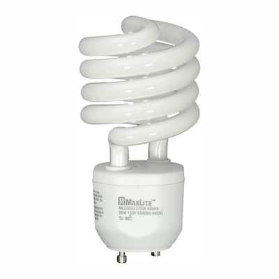 100W Equivalent Soft White (2700K) Spiral CFL Light Bulb