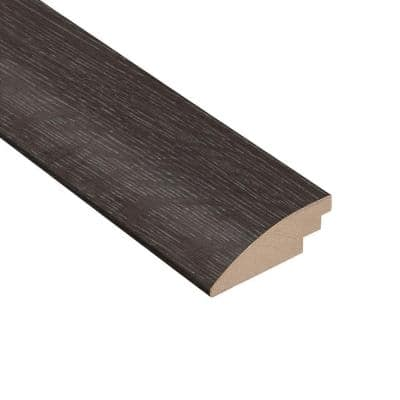 Wire Brushed Oak Lindwood 3/8 in. Thick x 2 in. Wide x 78 in. Length Hard Surface Reducer Molding