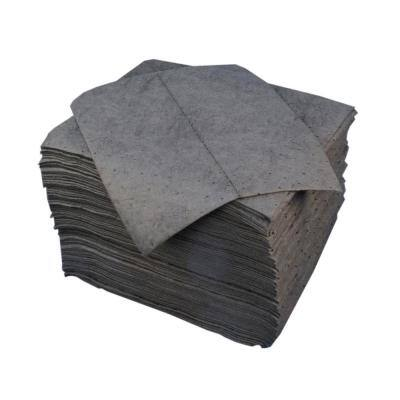 Universal Lightweight Oil Sorbent Pads - 15 in. x 18 in., 200 Per Case
