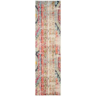 Monaco Multi 3 ft. x 10 ft. Runner Rug