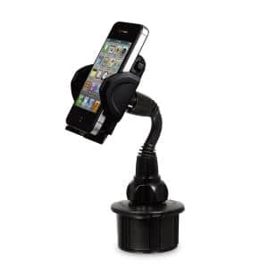 Adjustable Cup Holder for iPhone, iPod and Other Mobile Devices