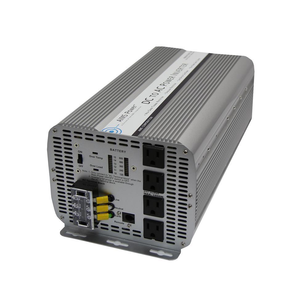 5,000-Watt Modified Sine Inverter 12-Volt DC to 120-Volt
