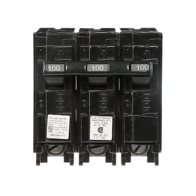 100 Amp 3-Pole Type QP Circuit Breaker