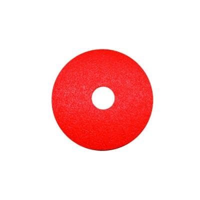 5 in. 80-Grit Fiber Disc (4-Pack)