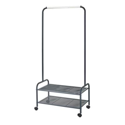 Black Metal Clothes Rack 36 in. W x 70 in. H