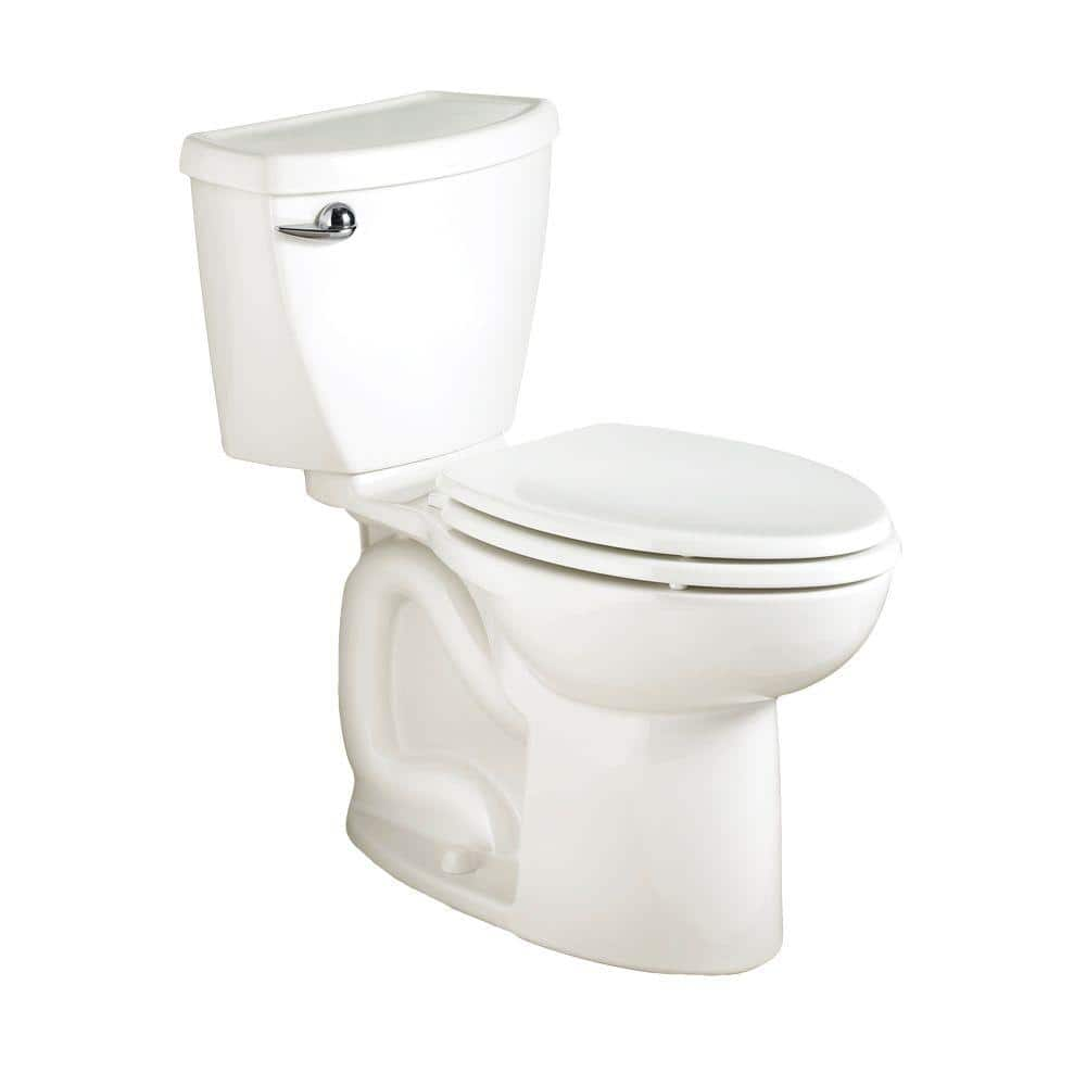 American Standard Cadet 3 Flowise 2 Piece 1 6 Gpf Single Flush Elongated Toilet In White Seat Not Included 270ca001 020 The Home Depot