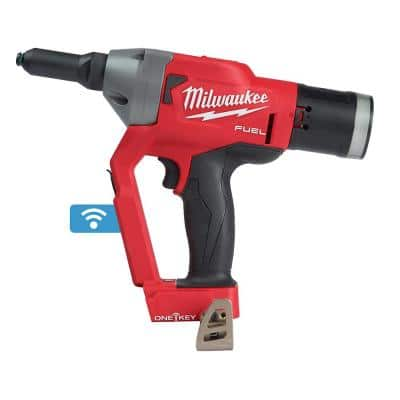 M18 FUEL ONE-KEY 18-Volt Lithium-Ion Cordless Rivet Tool (Tool-Only)