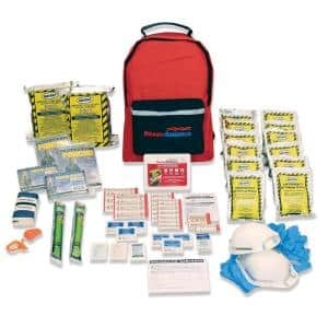 2-Person 3-Day Emergency Kit with Backpack
