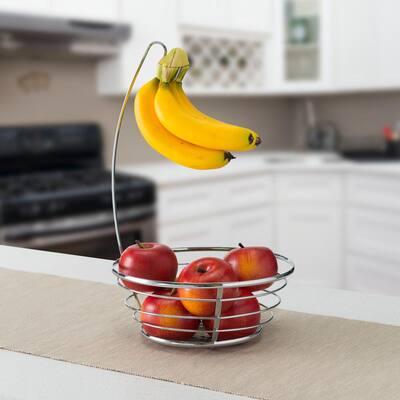 Fruit Basket with Banana Tree