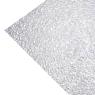 2 ft. x 2 ft. Acrylic Clear Cracked Ice Lighting Panel (5-Pack)