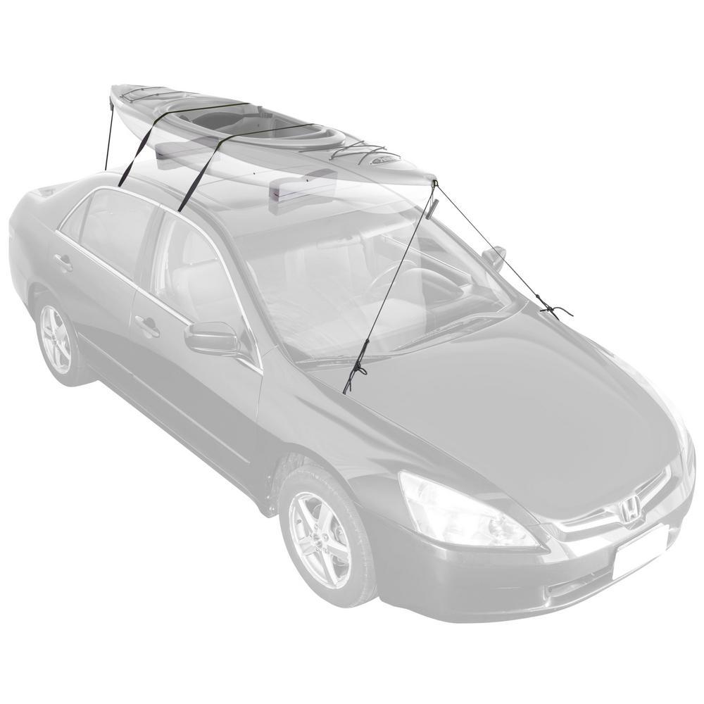 120 lbs. Capacity Car Roof Foam Block Racks for Kayaks