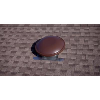 1000 CFM Brown Power Roof Mount Attic Fan