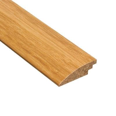 Strand Woven Natural 9/16 in. Thick x 2 in. Wide x 78 in. Length Bamboo Hard Surface Reducer Molding