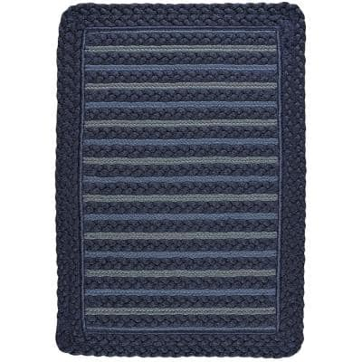 Benz-Ezine Red 3 ft. x 5 ft. Rectangle Machine Woven Area Rug
