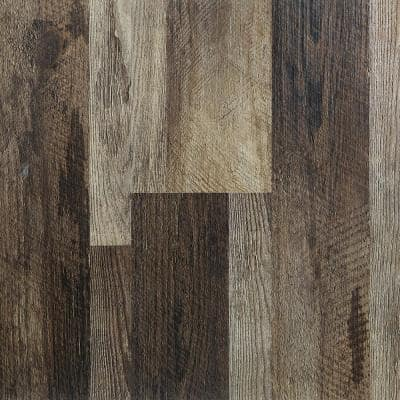 Winchester Oak 5.91 in. x 48 in. HDPC Floating Vinyl Plank Flooring (19.69 sq. ft. per case)