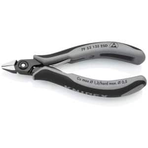 5 in. Precision Electronics Diagonal Cutters with ESD Handles