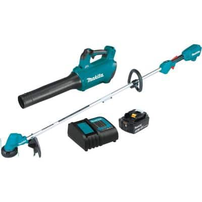 18-Volt 4.0 Ah LXT Lithium-Ion (Blower/String Trimmer) Brushless Cordless Combo Kit (2-Piece)