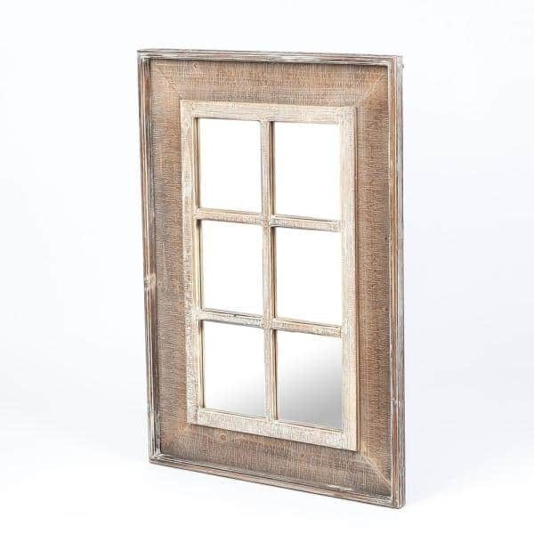 Luxenhome 39 4 In H X 27 6 W, Decorative Window Frame Mirrors