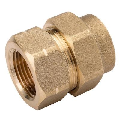 3/4 in. CSST x 3/4 in. FIPT Brass Female Adapter