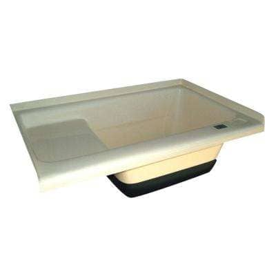 Sit-In Step Tub with Right Hand Drain TU500RH - Colonial White