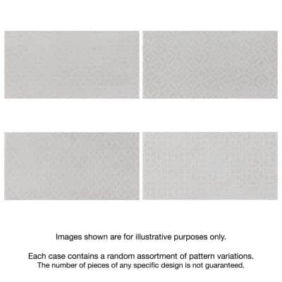 Camden Decor Antique Bianco 4 in. x 8 in. Ceramic Wall Tile (11.9 sq. ft. /Case)