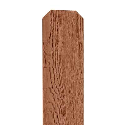 19/32 in. x 6 in. x 6 ft. Carolina Cedar Engineered Wood Dog Ear Fence Picket (12-Pack)