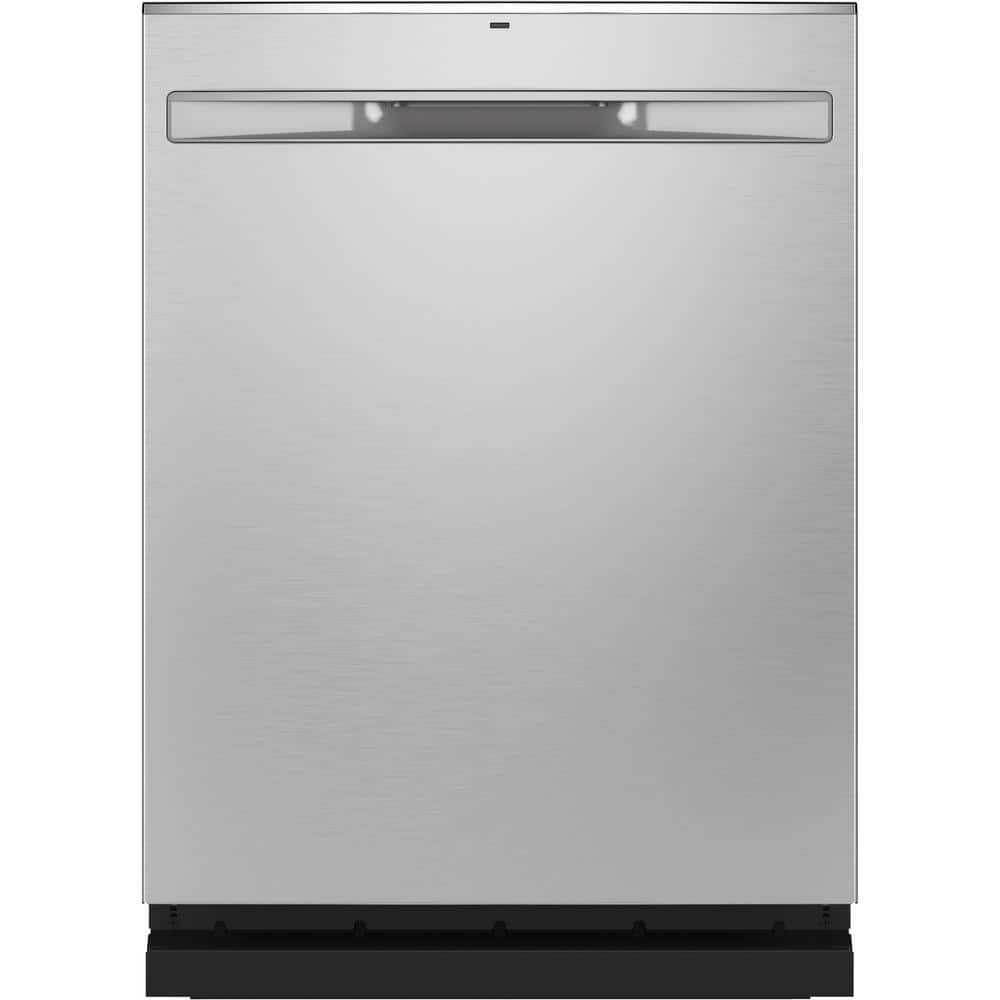 Ge 24 In Stainless Steel Top Control Built In Tall Tub Dishwasher With Stainless Steel Tub Steam Cleaning And 48 Dba Gdp645synfs The Home Depot