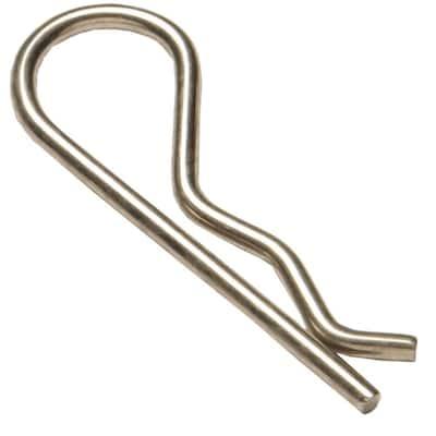 0.125 in. x 2-1/2 in. Hitch Pin Clip (10-Pack)
