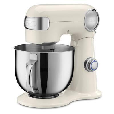 Precision Master 5.5 qt. 12-Speed in Coconut Cream Stand Mixer with Attachments