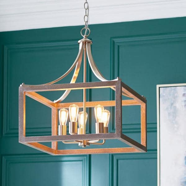 Hampton Bay Boswell Quarter (Best Small Chandelier Lighting)