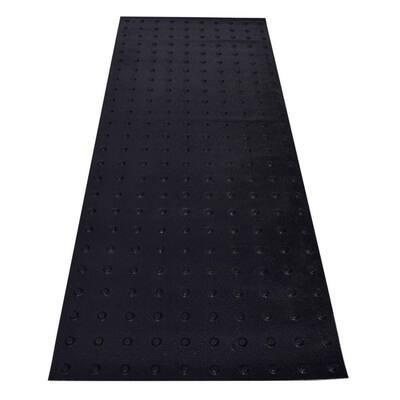 SSTD PowerBond 24 in. x 5 ft. Black ADA Warning Detectable Tile (Peel and Stick)