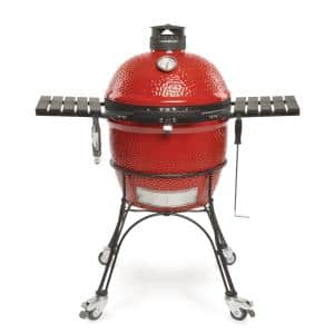 Classic II 18 in. Charcoal Grill in Blaze Red