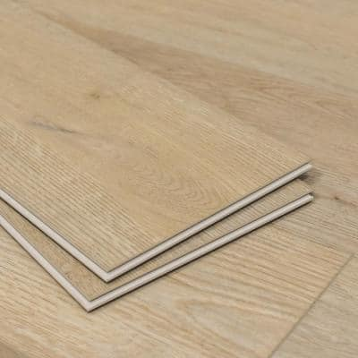 Meraki Opulent Beige 7 in. W x 60 in. L SPC Vinyl Plank Flooring (24.08 sq. ft.)