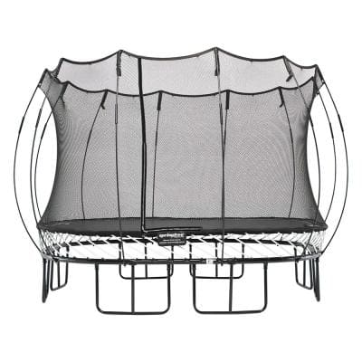 Trampoline Kids Outdoor Large Square 11 ft. Trampoline with Enclosure