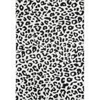 Sebastian Leopard Print Dark Gray 10 ft. x 14 ft. Area Rug