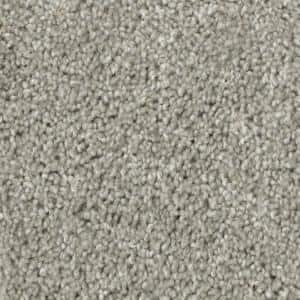 Groove - Color Gray 12 ft. Texture Carpet (1080 sq. ft./Roll)
