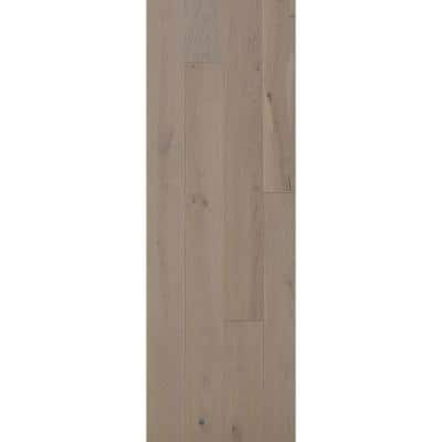 Euro White Oak Ice Caps 9/16 in. Thick x 8.66 in. W x Varying Length Engineered Hardwood Flooring (31.25 sq. ft./case)