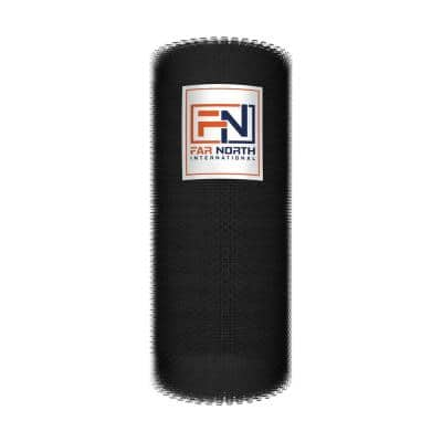 4 ft. x 150 ft. 20-Gauge Black PVC Coated Poultry Netting with 1 in. Mesh