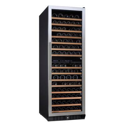 N'FINITY PRO L 166-Bottle 23.75 in. Dual Zone Freestanding Wine Cellar
