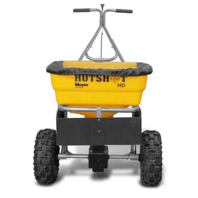 100 lb. Capacity Walk Behind Broadcast Salt Spreader