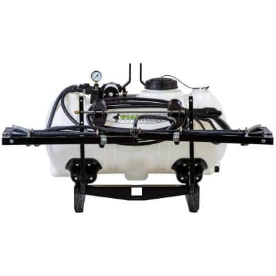 3-Point Sprayer 40 Gal. 12-Volt 5 Nozzle Boom for Utility Tractors