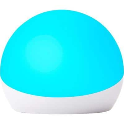 Echo Glow Multi-color Smart Lamp in White