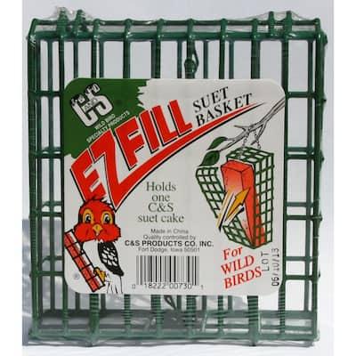EZ Fill Suet Basket Bird Feeder