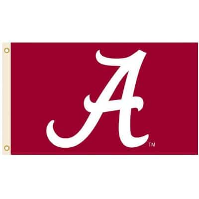 NCAA 3 ft. x 5 ft. Alabama Flag