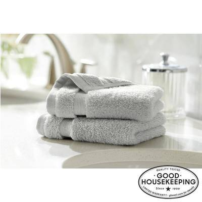 Egyptian Cotton Wash Cloth in Shadow Gray (Set of 2)