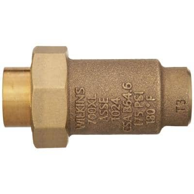 700XL Dual Check Valve with 3/8 in. Female Union Inlet x 3/8 in. Female Outlet