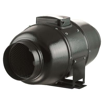880 CFM Power 10 in. Energy Efficient Metal Mixed Flow Inline Duct Fan