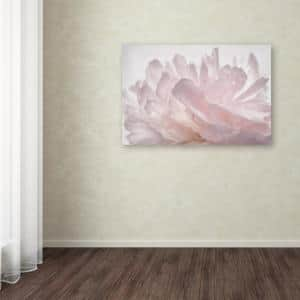 30 in. x 47 in. ''Pink Peony Petals V'' by Cora Niele Printed Canvas Wall Art