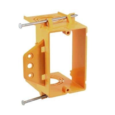 1-Gang Low Volt Bracket With Nail